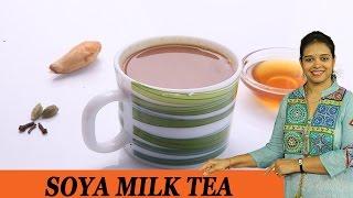 SOYA MILK TEA - Mrs Vahchef