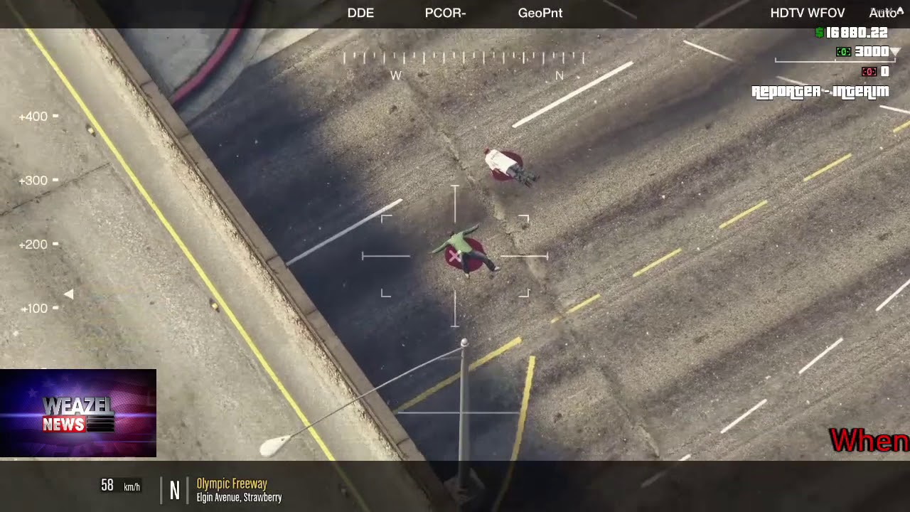 eGO FiveM RP Server - Weazel News Nov, 22  Gunfight Downtown Los Santos