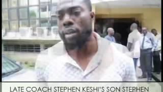 Son of late Stephen Keshi speaks