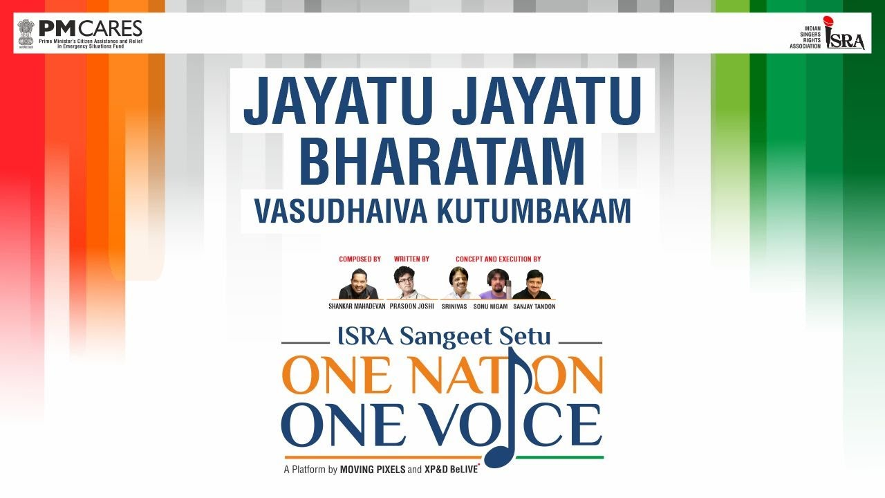 Jayatu Jayatu Bharatam 211 Singers 1 Anthem One Nation One Voice Youtube
