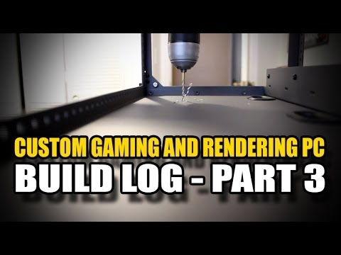 Custom Gaming and Rendering PC Build Part 3