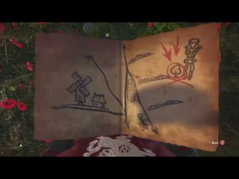 Kingdom Come Deliverance Ancient Map 3 Treasure Location