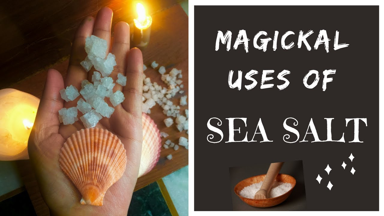 Magickal Uses of SEA SALT | Quick Look | The Two Wizards