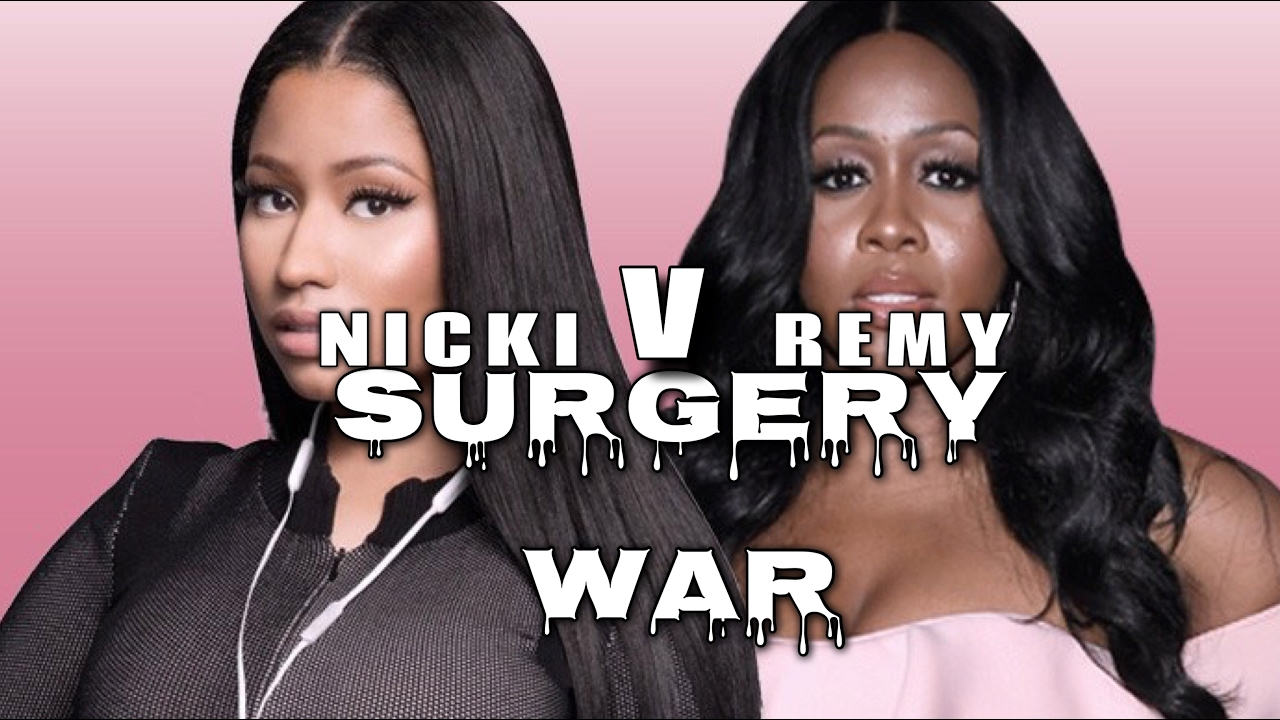 Surgery minaj pictures before of nicki