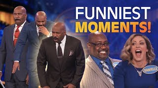 Family Feud's BEST BLOOPERS and EPIC FAILS!!! | Part 14