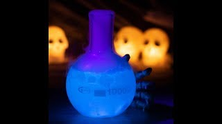 Glow in the Dark Gin Tonic