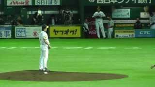 2013/5/1 ソフトバンクホークスvs西武ライオンズ 3塁側2x列42xより撮影.