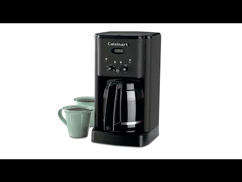 Cuisinart Coffee Maker Quit Brewing : Cuisinart Brew Central DCC-1200 12-Cup Programmable Coffeemaker - YouTube