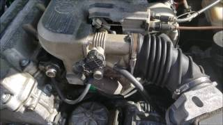 BMW E36 Rough Idle & Stalling Diagnosis