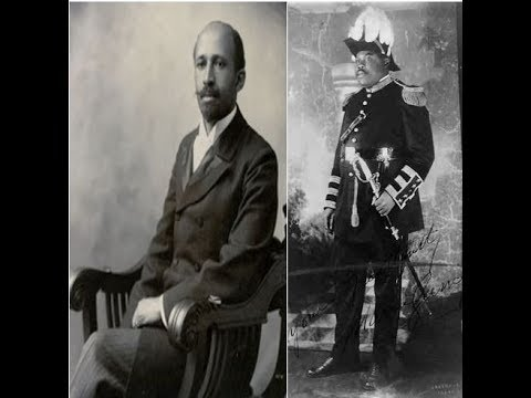 WEB Dubois on Marcus Garvey: Back To Africa