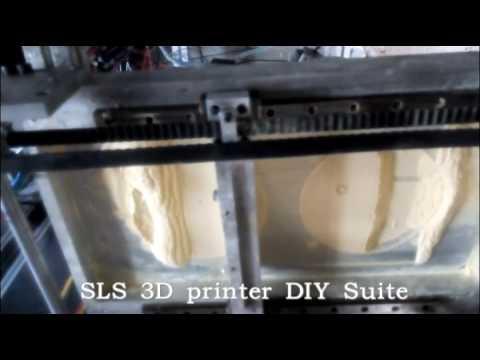 DIY SLS 3D printer