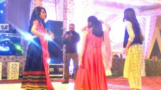 HIMACHALI GIRLS DANCING ON DIL CHEEZ TUJHE DEDI SONG AT MARRIAGE PARTY
