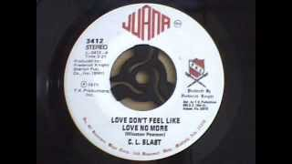 C. L. Blast  - Love dont feel like love no more