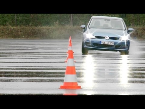 VW Golf Mk7 Development Testing Ground