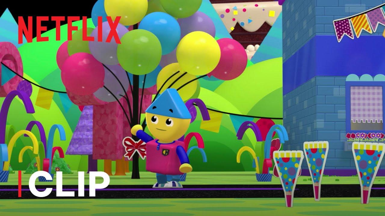 Colorforms 🎁  Una festa SPAZIALE 🎉  Netflix Jr
