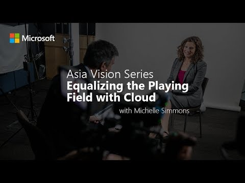 Asia Vision Series: Equalizing the Playing Field with Cloud