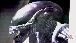 Alien vs Predator haunted house at Halloween Horror Nights 2014, Universal Orlando AvP