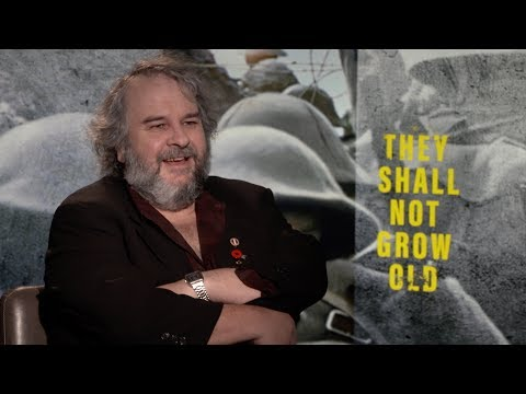 Peter Jackson Talks World War I Documentary THEY SHALL NOT GROW OLD