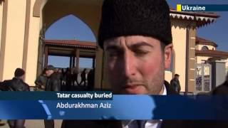 Ethnic Cleansing Fears: Crimean Tatars mourn first suspected victim of Russian occupation