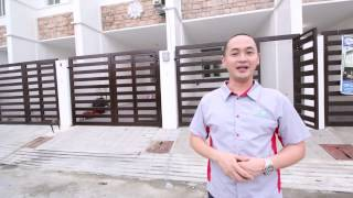 Bristol Homes Mercedes Avenue Pasig Townhouse For Sale Standard Finish House and Lot For Sale