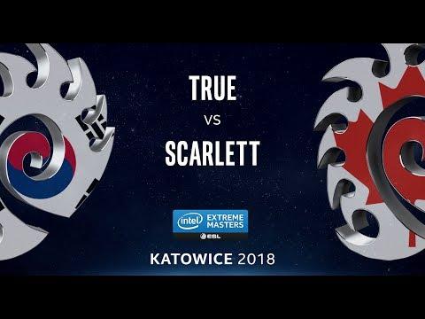 StarCraft II - True [Z] vs. Scarlett [Z] - LB Final - B2 - IEM Katowice 2018
