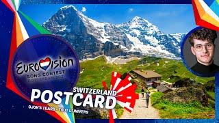 Eurovision 2021: Switzerland's Postcard • Gjon's Tears - Tout l'Univers 🇨🇭