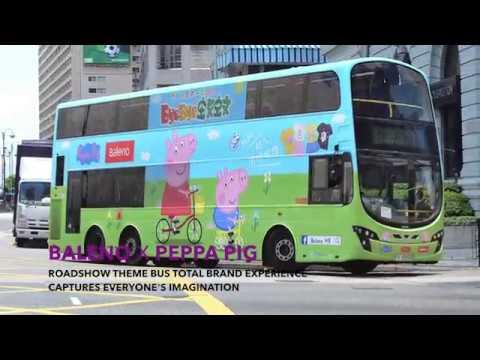 baleno x peppa pig anti mosquito series featured on roadshow s theme