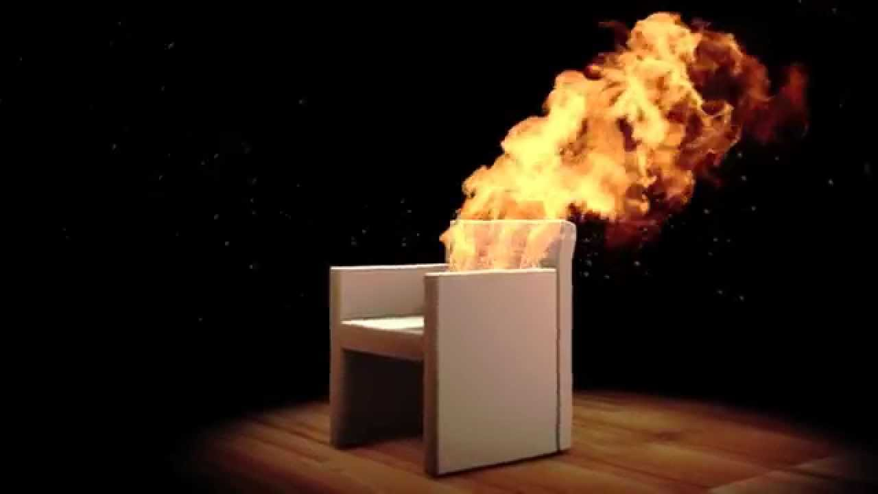 Merveilleux Chair On Fire