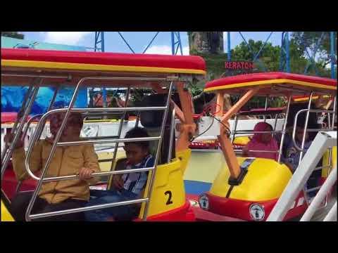 Bagaikan Tornado, Enterprise Ride Pacu Adrenalin di Jatim Park 1