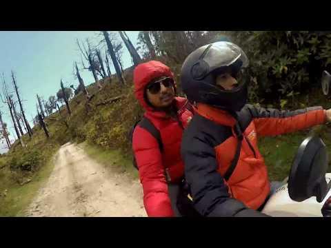 Ruby Valley Dhading 2017 HD II Royal Himalayan & Honda CB Unicorn II