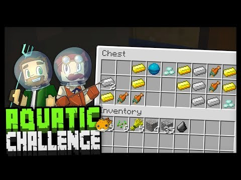 THE HEART OF THE SEA?! - Minecraft Aquatic Challenge - #9