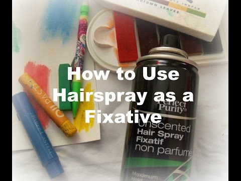 how-to-use-hairspray-as-a-fixative/-applying-spray-fixative-/-how-to-seal-artwork
