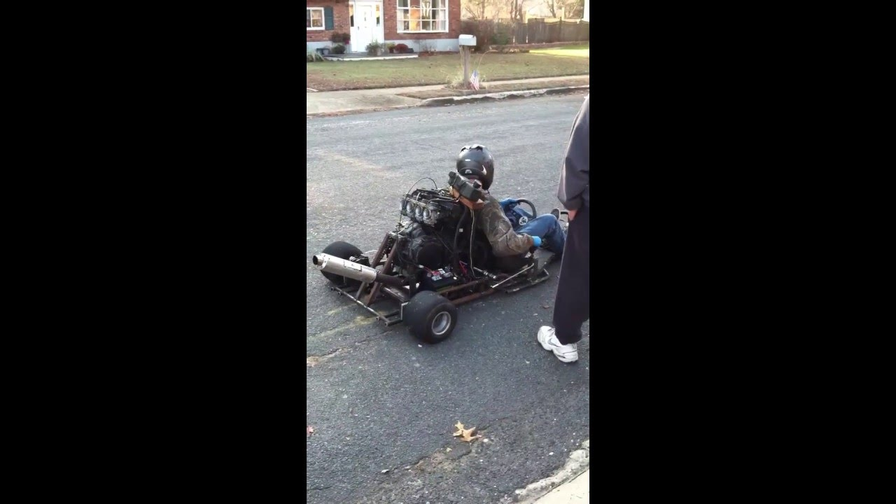 Monstercart 600cc go kart - YouTube
