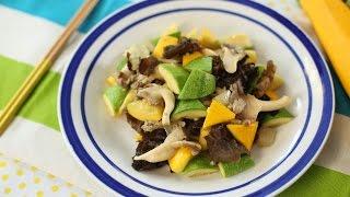 菇菌炒雜菜