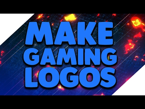How to make gaming logo/profile picture on android - YouTube