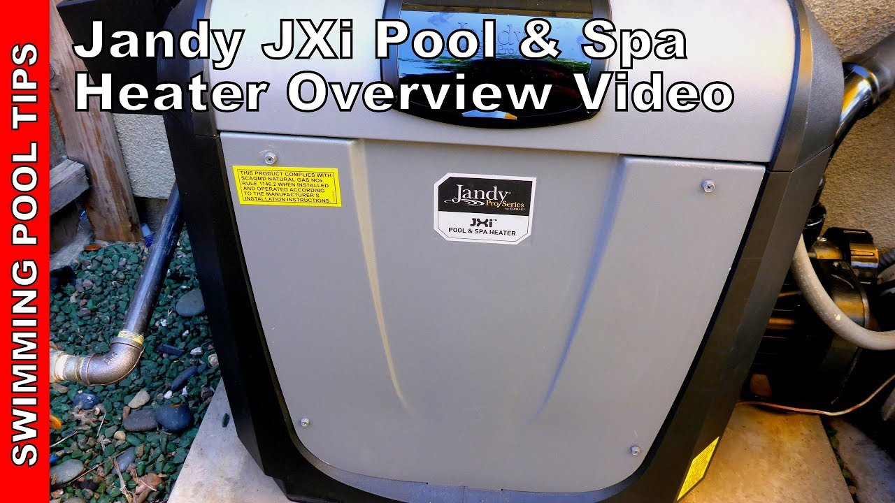 Jandy Jxi Pool Spa Heater Overview Video Youtube Gas Valve Wiring Diagram