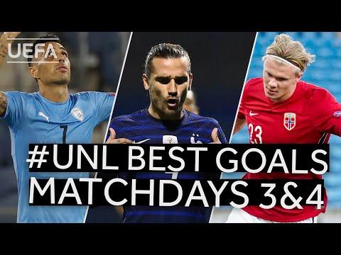 ZAHAVI, GRIEZMANN, HAALAND: #UNL BEST GOALS, Matchdays 3&4