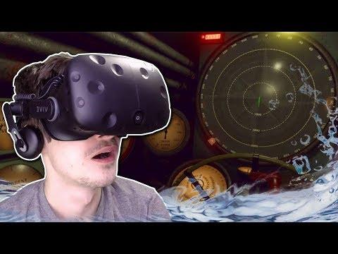 SINKING SUBMARINE SURVIVAL? - IronWolf VR Multiplayer Gameplay - VR Submarine Simulator Game