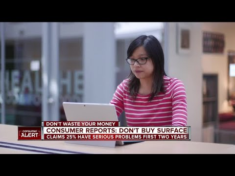Consumer Reports: Don't buy Microsoft (MSFT) Surface tablet