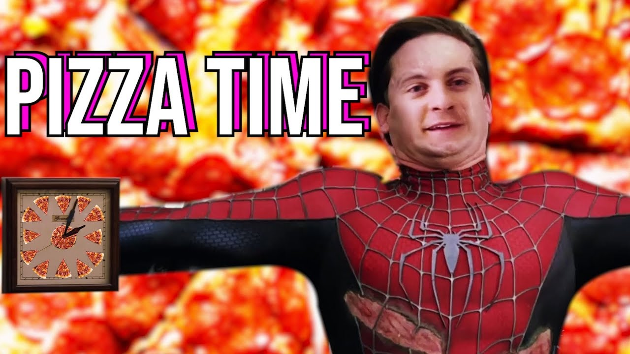 Pizza Time Songify Spider Man