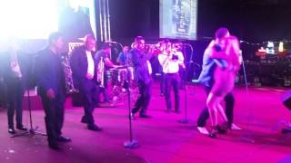 El POTRERO NIGHTCLUB #ELCHAKAMARTINEZ  LA ORIGINAL BANDA EL PATRON DE  Rafael Gutierrez