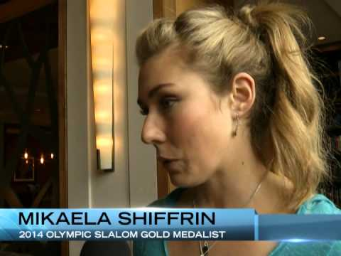 Westin Riverfront Mikaela Shiffrin interview with TV8 Vail