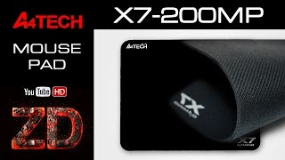 A4 Tech X7-200 MP Gaming Mouse Pad Black