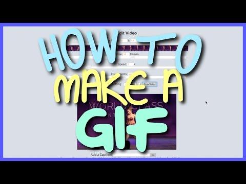 How to Make A GIF (2016 FREE)