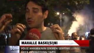 DİKMEN'DE MAHALLE BASKINI