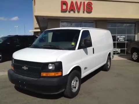 Used White Cargo Van for sale in Lethbridge  111305  Davis GMC Buick