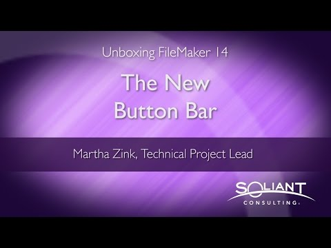 Unboxing FileMaker 14: The New Button Bar