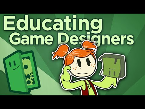 """Educating Game Designers - Too Much """"Game"""" at Game Schools - Extra Credits"""