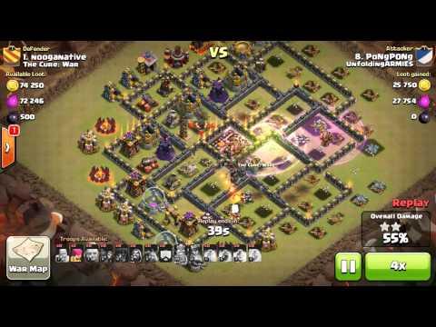 Clash of Clans Troop Deployment Exploit? Clash of Clans War Raid