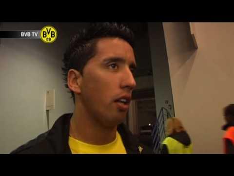 Hertha BSC Berlin - BVB: Freies Interview mit Lucas Barrios